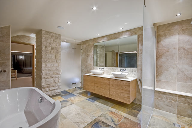 Bespoke bathroom cabinet