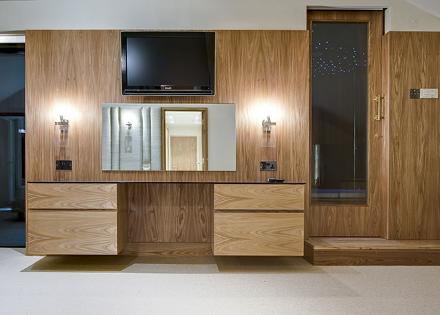 Bespoke bedroom dresser,