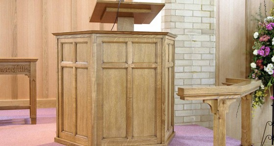 Bespoke church furniture